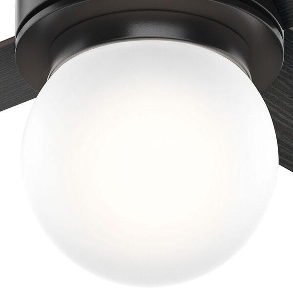 Hepburn Matte Black 52-Inch One-Light LED Adjustable Ceiling Fan, image 3