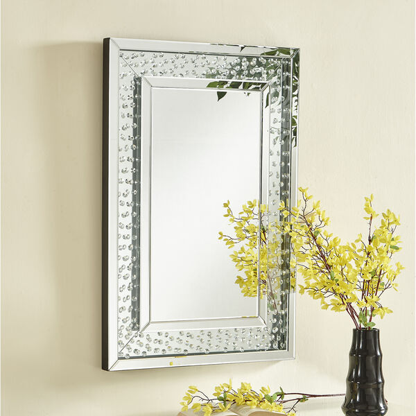 Sparkle Crystal 24-Inch Mirror, image 1
