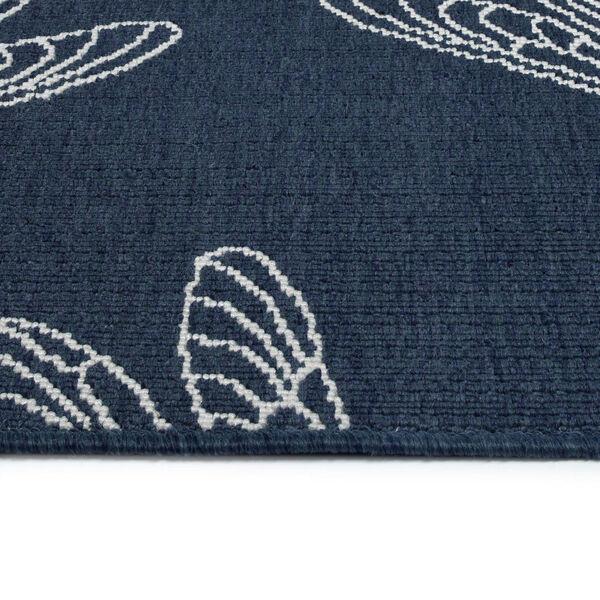 Dragonfly Navy Indoor/Outdoor Rug, image 4