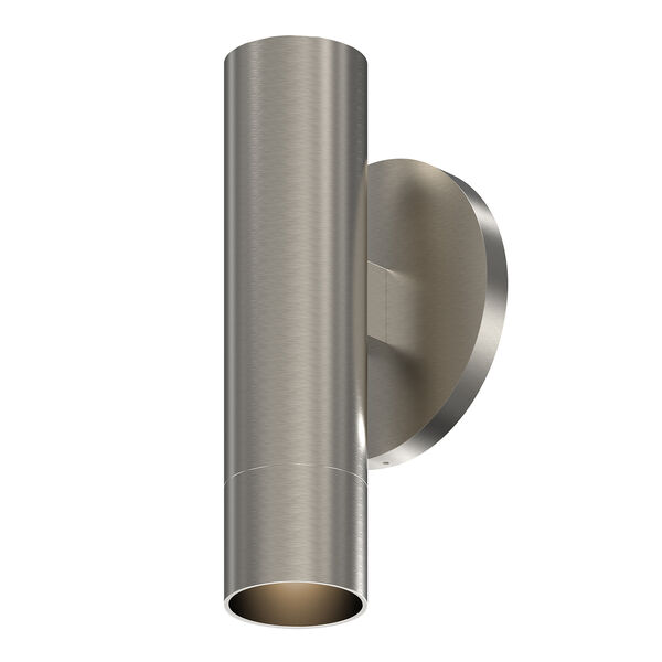 ALC Satin Nickel One-Light LED ADA Wall Sconce with Snoot Trim, image 1