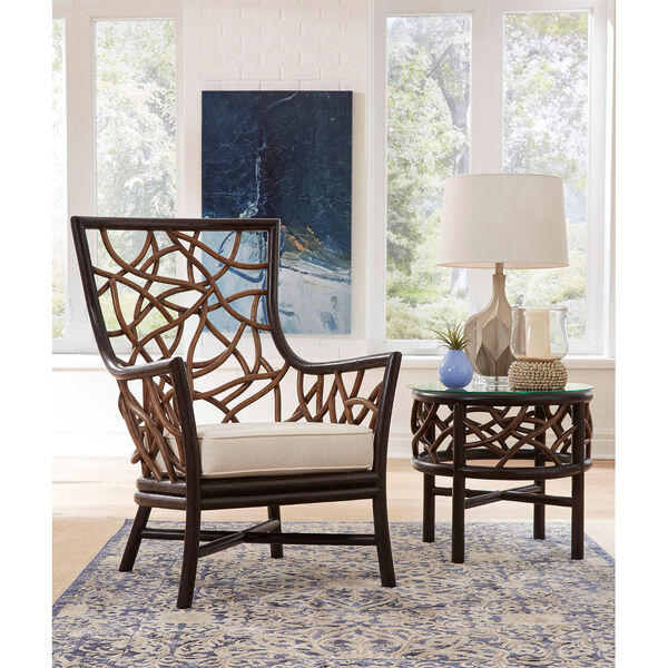 Trinidad Occasional Chair with End Table, image 3