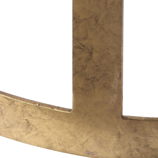 Ivanna Antique Gold Counter Stool, image 4