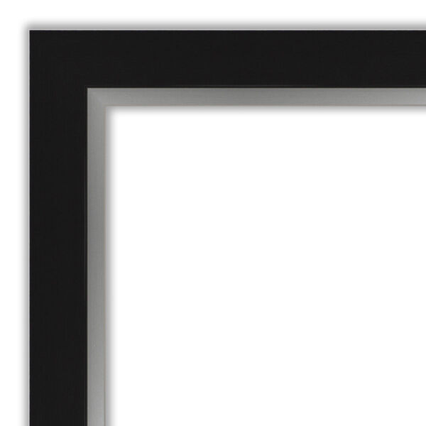 Eva Black and Silver Full Length Mirror, image 2