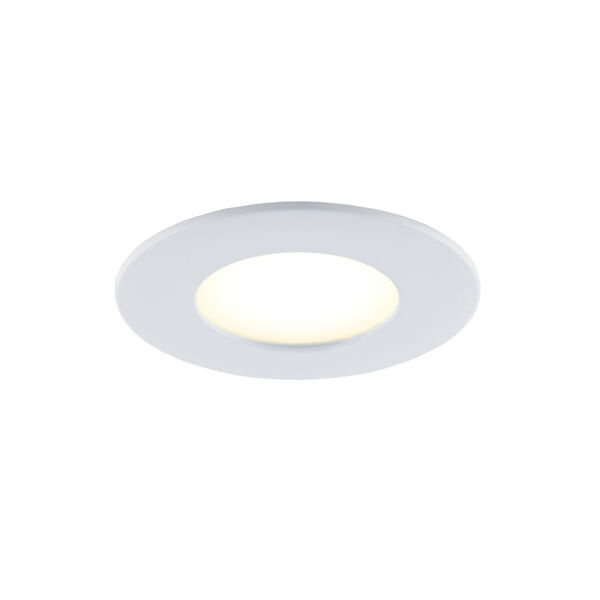 Matte White RGB LED Recessed Fixture Kit, image 4