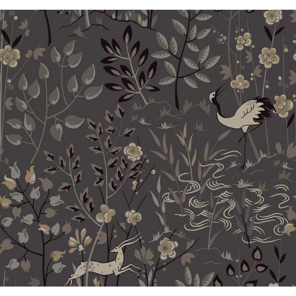 Ronald Redding Urban Dark Grey Aspen Wallpaper, image 1