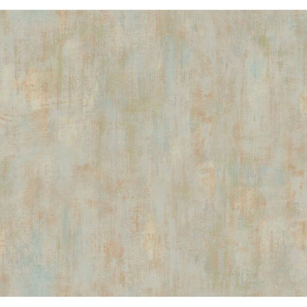 Antonina Vella Elegant Earth Silver Rust Concrete Patina Textures Wallpaper, image 2