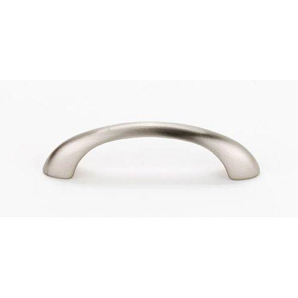 Satin Nickel Brass 6-Inch Pull, image 1