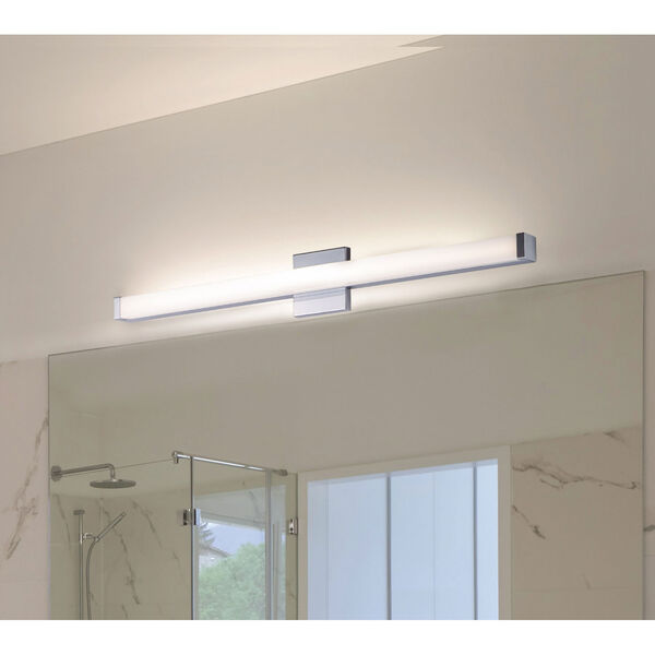 Spec Vanity Polished Chrome 30-Inch LED Bath Bar, image 2