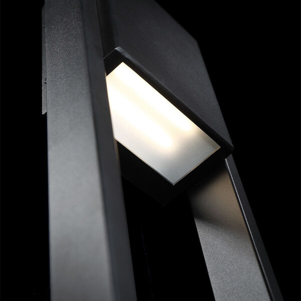 Archetype Black 18-Inch 3000K LED Outdoor Wall Sconce, image 3
