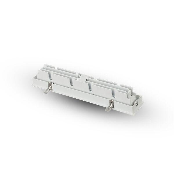 Rubik White 10-Light Adjustable LED Recessed Downlight, image 6
