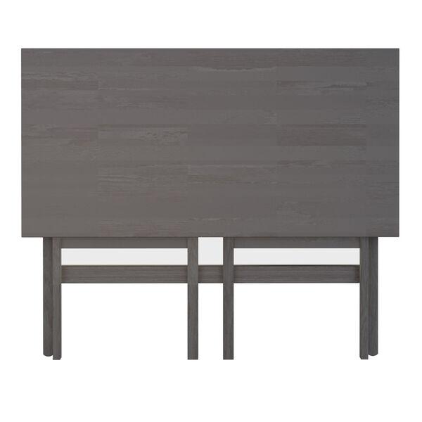 Xander Oyster Gray Foldable Desk, image 3
