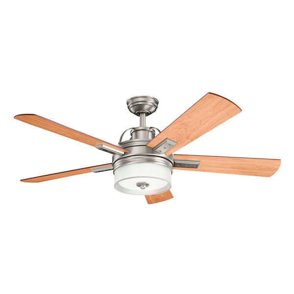 Lacey II Antique Pewter 52-Inch LED Ceiling Fan, image 1