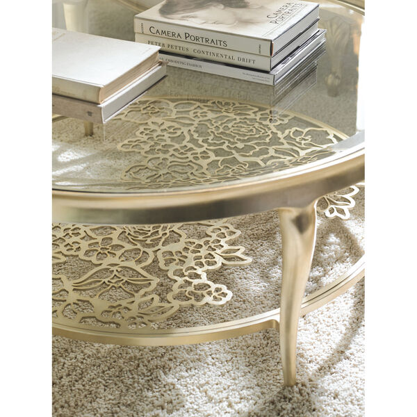 Classic Gold Handpicked Coffee Table, image 5