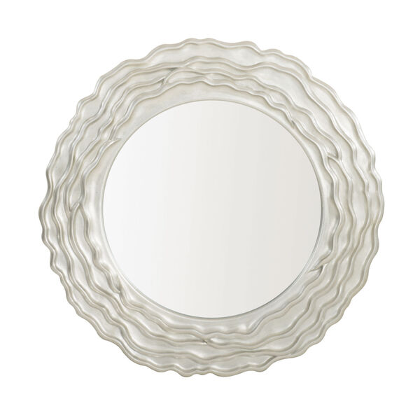 Silver Calista Round Mirror, image 1