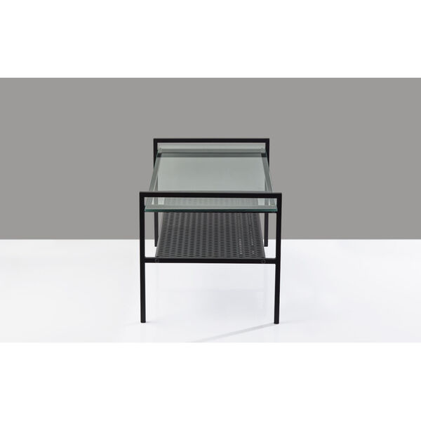 Pearson Black Two-Tiered Coffee Table, image 4