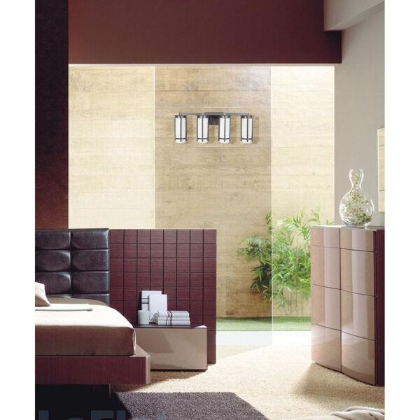 Truxton Graphite Four-Light Bath Vanity, image 2