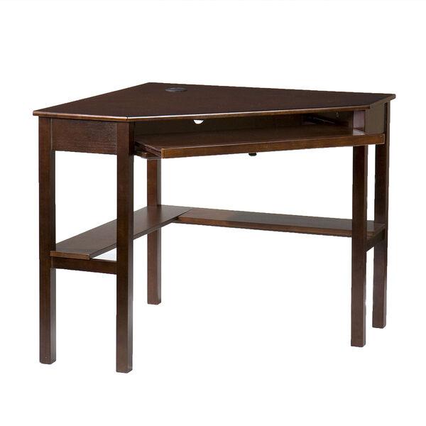 Espresso Corner Desk, image 1