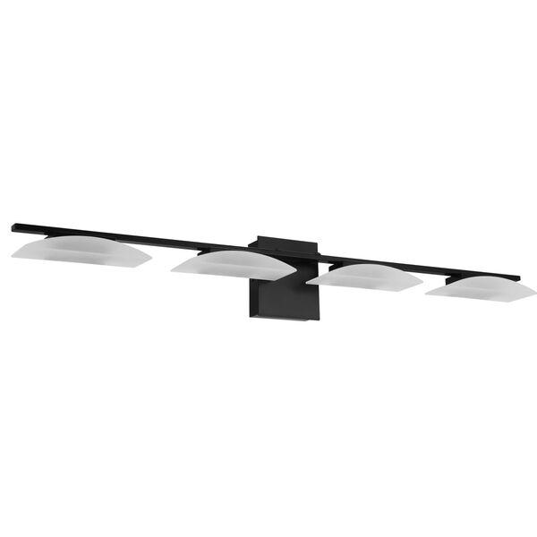 Matrass 3 Black Four-Light LED Bath Vanity, image 1
