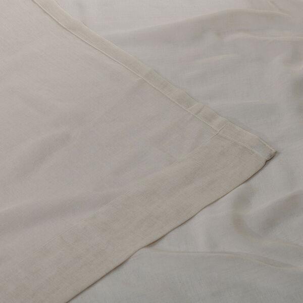 Tumbleweed Faux Linen Sheer Single Panel Curtain Panel, 50 X 108, image 5