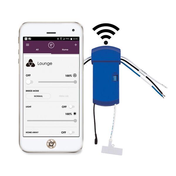 Wrap Custom Blue Fan Sync Wifi Receiver, image 1