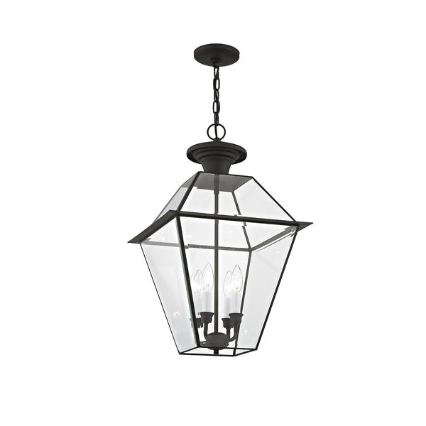 Westover Black Four-Light Outdoor Chain Hang, image 4
