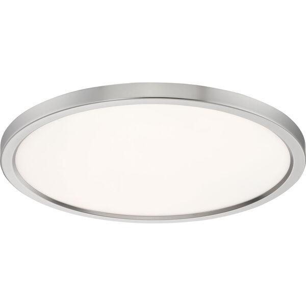 Outskirt Brushed Nickel 20-Inch LED Flush Mount, image 4