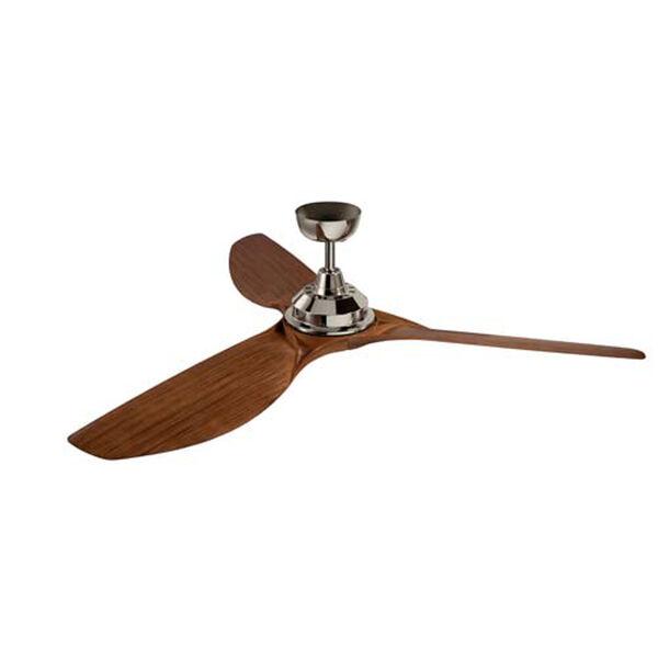 Imari Polished Nickel LED 65-Inch Ceiling Fan, image 2