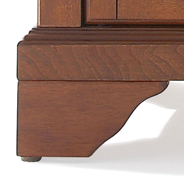 LaFayette Buffet Server / Sideboard Cabinet with Wine Storage in Classic Cherry Finish, image 3