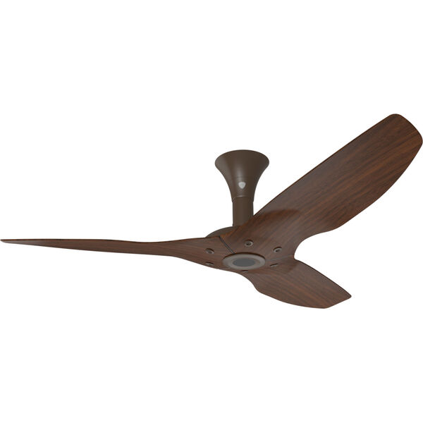 Haiku Oil Rubbed Bronze 52-Inch Low Profile Outdoor Ceiling Fan with Cocoa Bamboo Blades, image 1