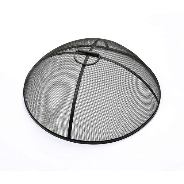 Light Grey Outdoor 21-Inch Round Concrete Wood Burning Fire Pit, image 2