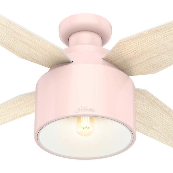 Cranbrook Low Profile Blush Pink 52-Inch LED Ceiling Fan, image 6