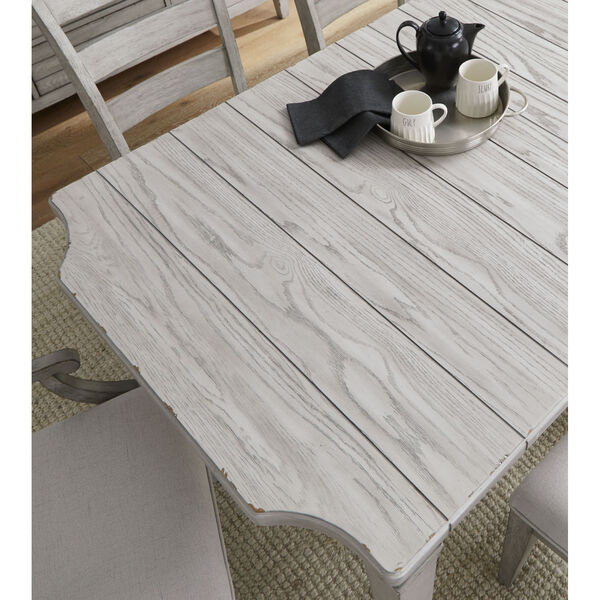 Belhaven Weathered Plank Leg Table, image 3