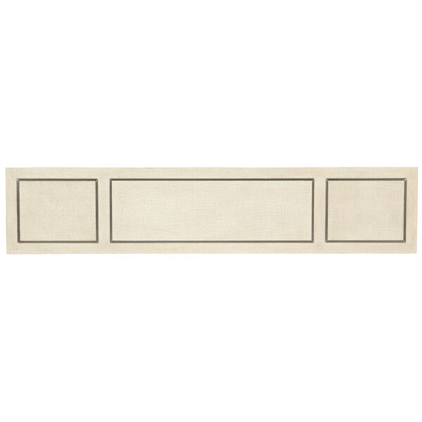 Cascade Lacquered Burlap Console Table, image 2