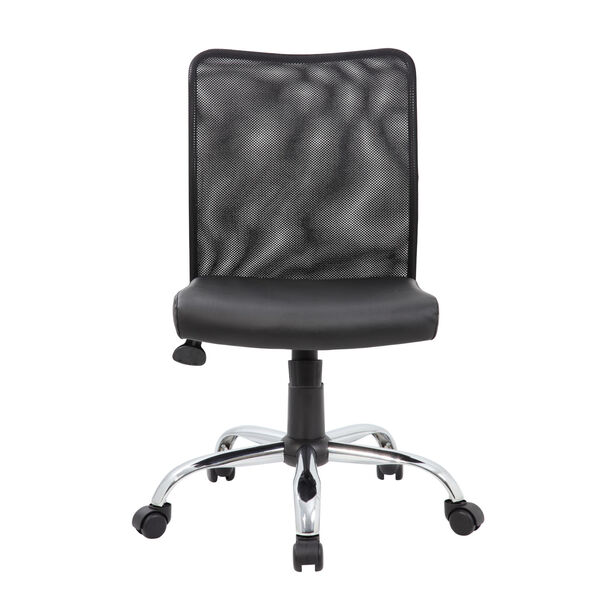 Boss 27-Inch Black Budget Mesh Task Chair, image 5