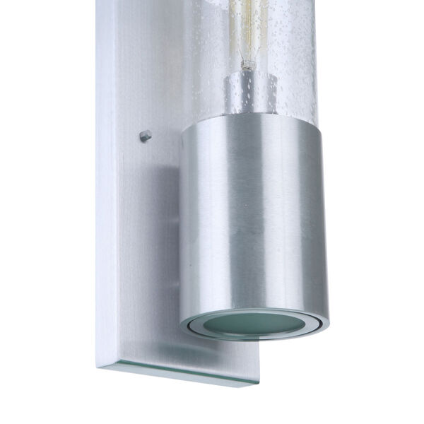 Sabre Satin Aluminum 17-Inch One-Light Outdoor Wall Sconce, image 6