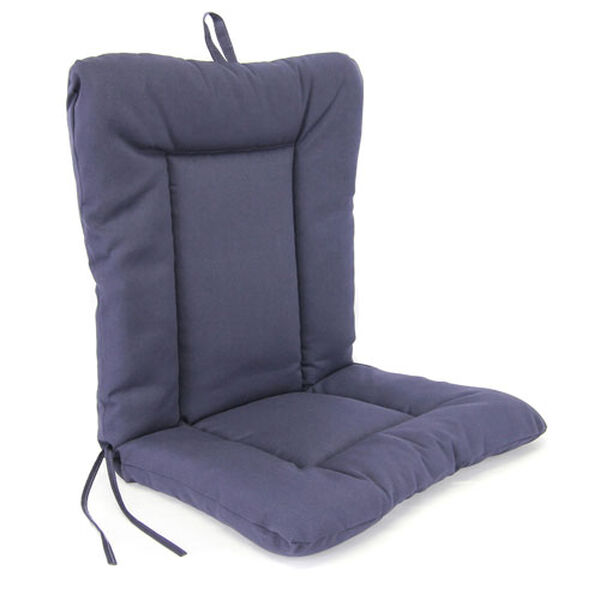 Navy Euro Style Chair Cushion, image 1