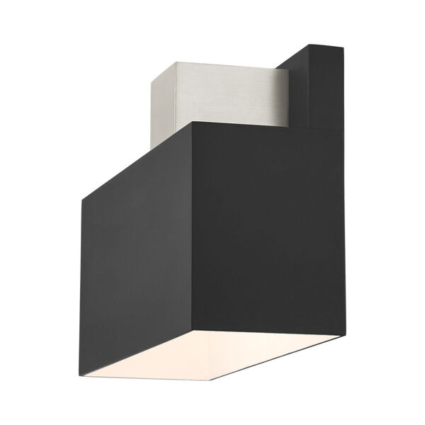 Lynx Black One-Light Outdoor ADA Wall Sconce, image 6
