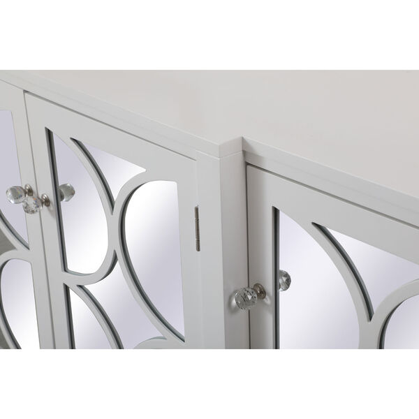 Modern White 72-Inch Sideboard, image 5