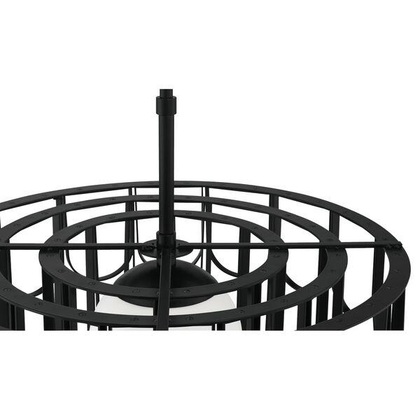 Melody Flat Black 25-Inch One-Light Pendant, image 6