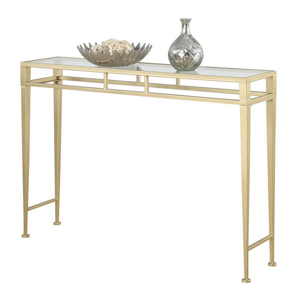 Monroe Gold Console Table, image 2