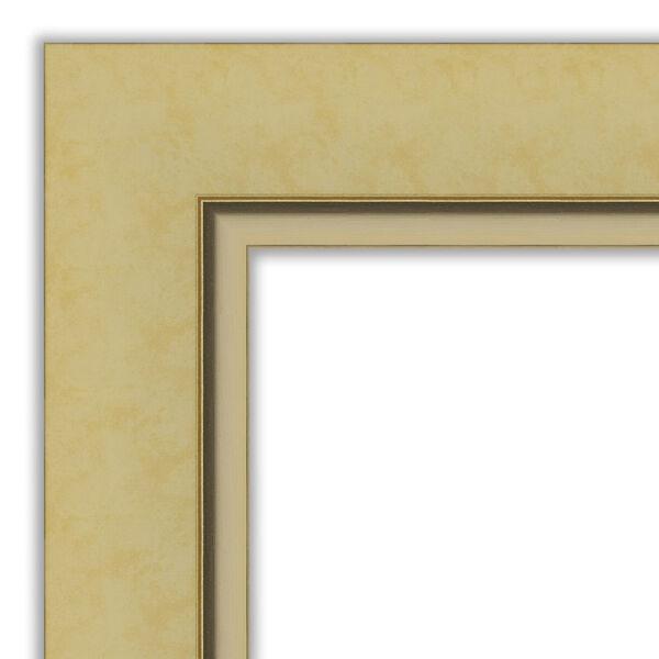 Landon Gold 34W X 28H-Inch Bathroom Vanity Wall Mirror, image 2