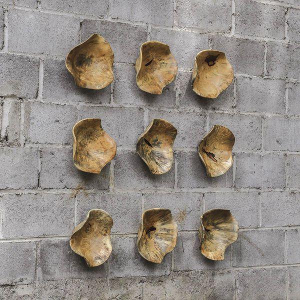 Tamarine Wood Wall Art, Set of Three, image 3
