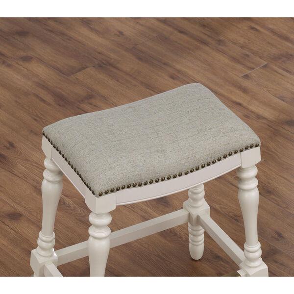 Hampton Saddle Seat Counter Stool, image 3