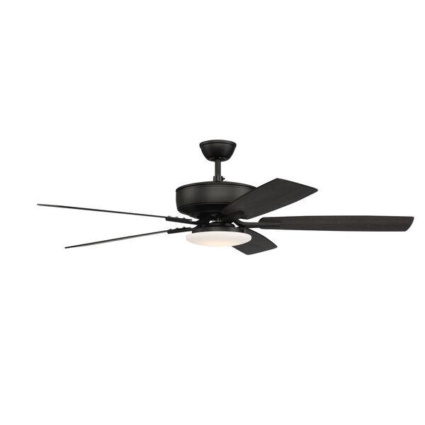 Pro Plus Flat Black 52-Inch LED Ceiling Fan, image 5