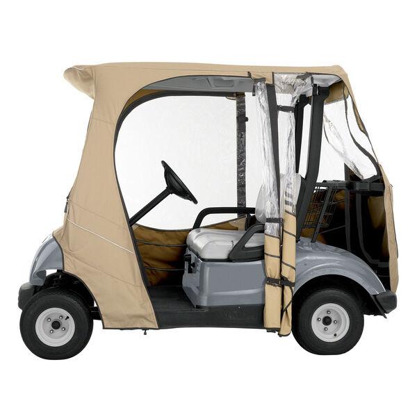 Cypress Khaki Yamaha Drive Golf Car Enclosure, image 4