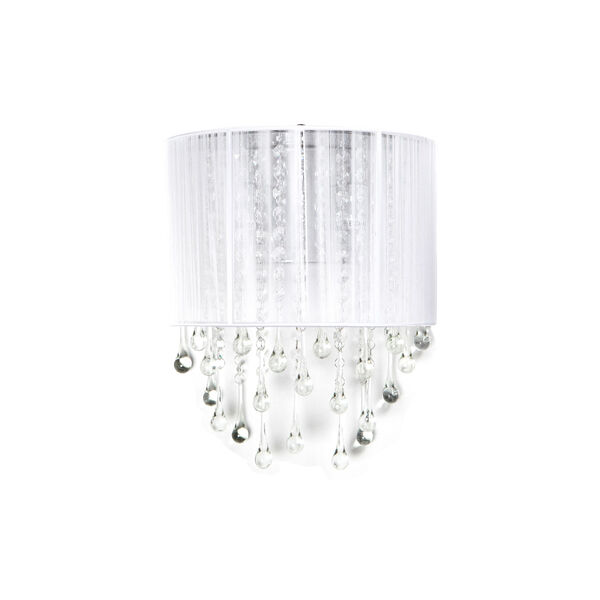 Beverly Dr. White Two-Light Wall Sconce, image 1