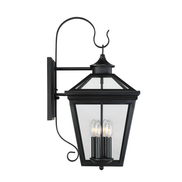 Kenwood Black Four-Light Outdoor Wall Sconce, image 3