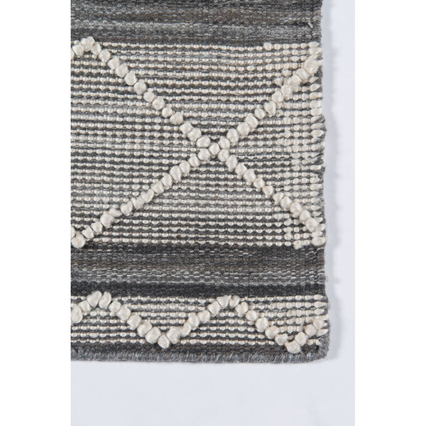 Hermosa Geometric Gray Rectangular: 5 Ft. x 8 Ft. Rug, image 4