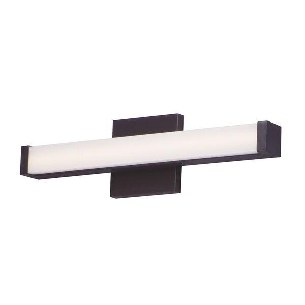 Spec Vanity Bronze 18-Inch LED Bath Bar, image 1