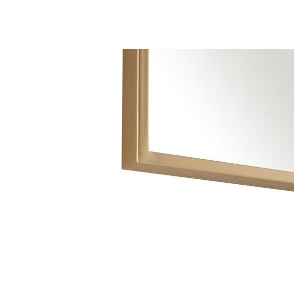 Eternity Brass 32-Inch Mirror, image 3